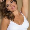 white seamless comfort bra