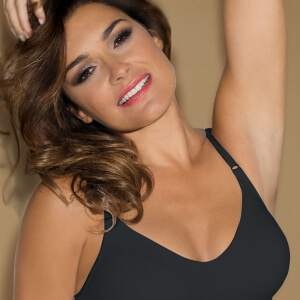 black seamless comfort bra