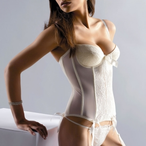 Crystal Bridal Basque