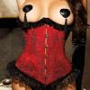 Jacquard Burlesque Corset