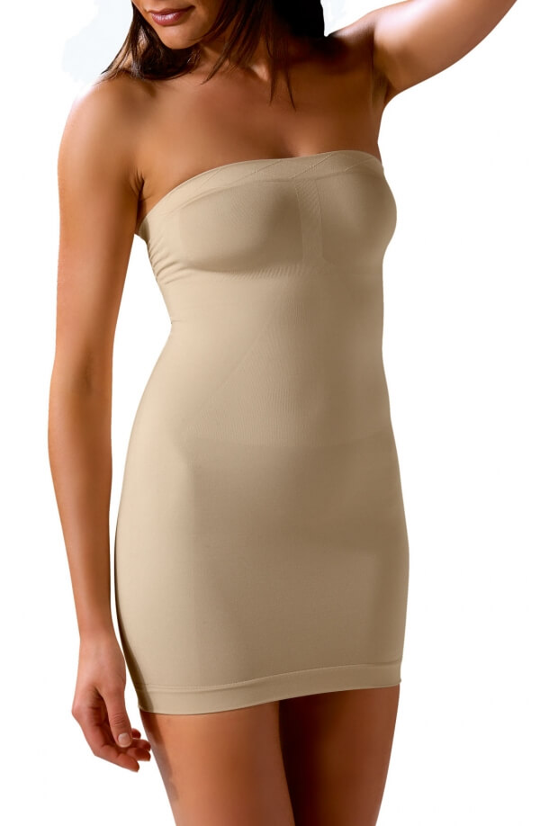 Strapless Shaping Dress Nude
