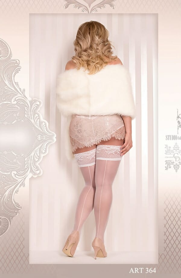 Ballerina 364 White Hold Ups