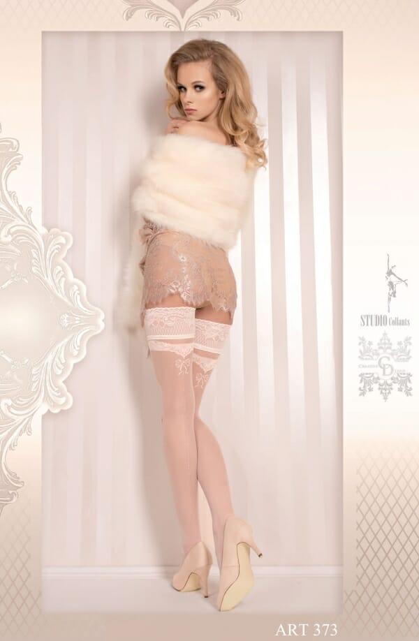 Ballerina 373 White Hold Ups
