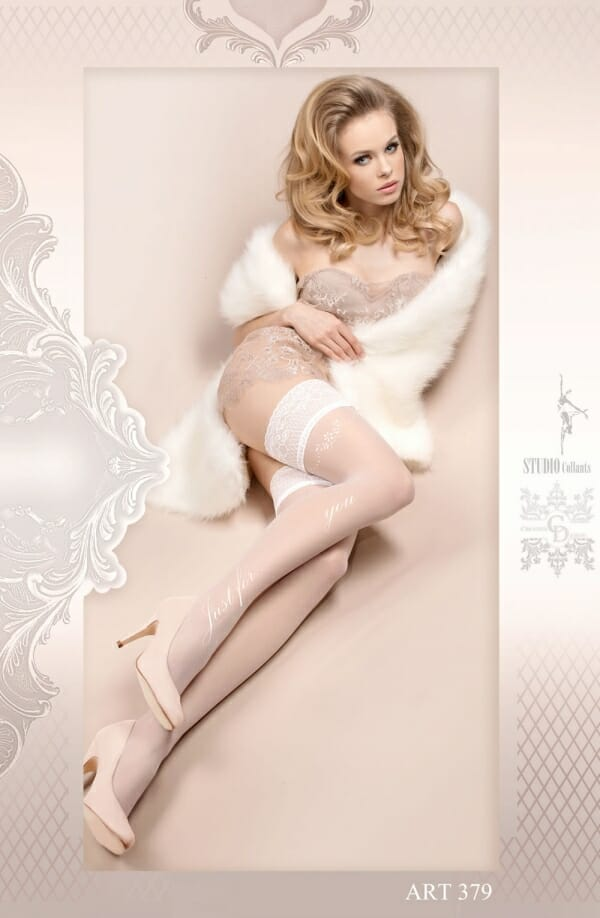 Ballerina 379 'Just For You' White Hold Ups