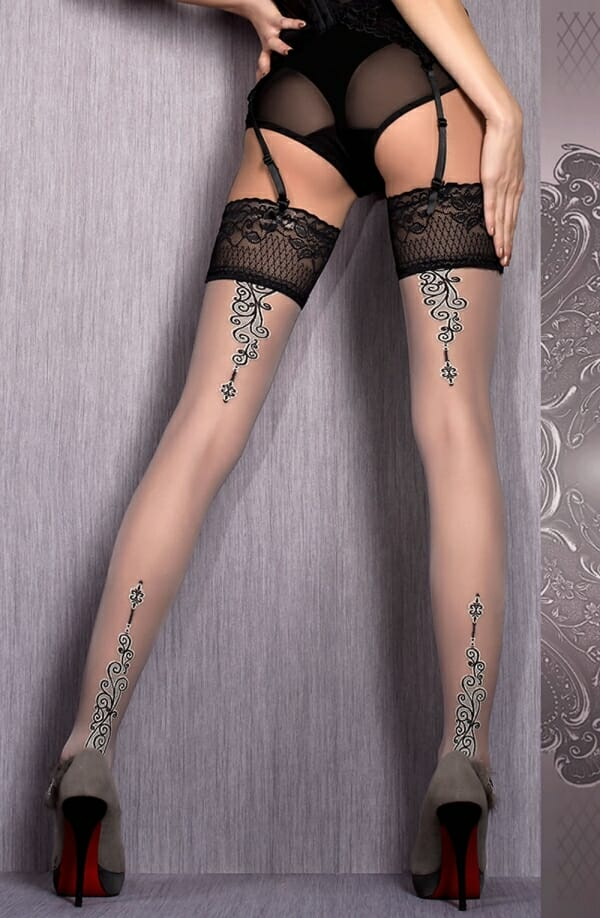 Ballerina 420 Grey Hold Ups