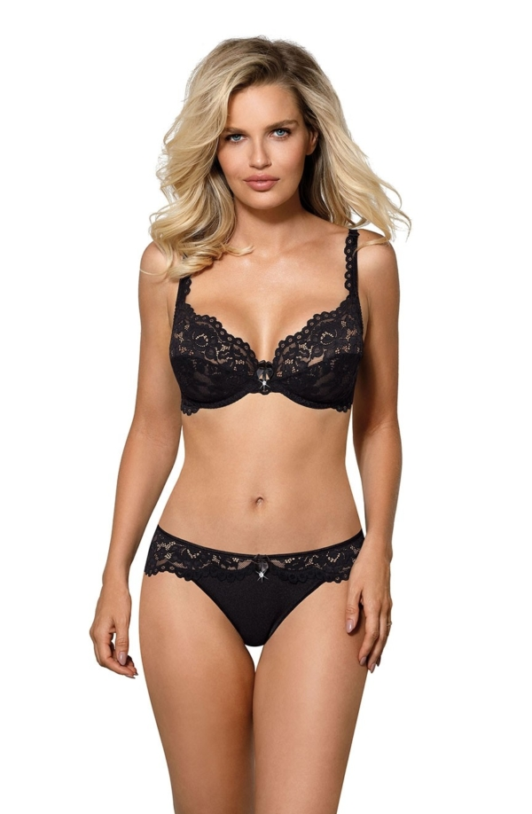 Newia Soft Cup Bra Black