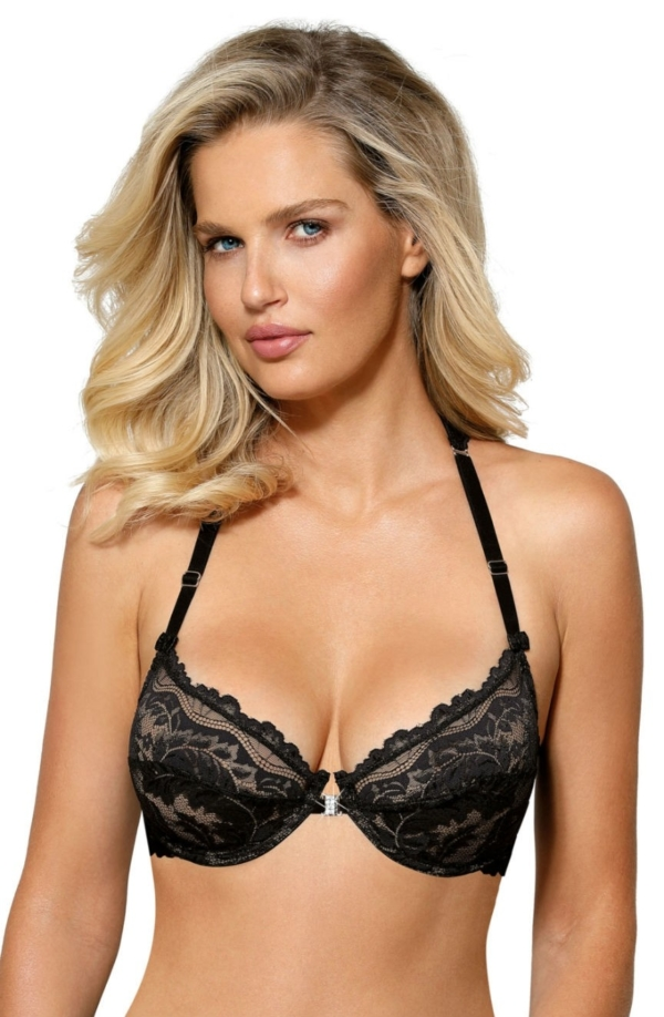 Sefia Soft Cup Bra Black