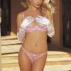 pink balcony bra