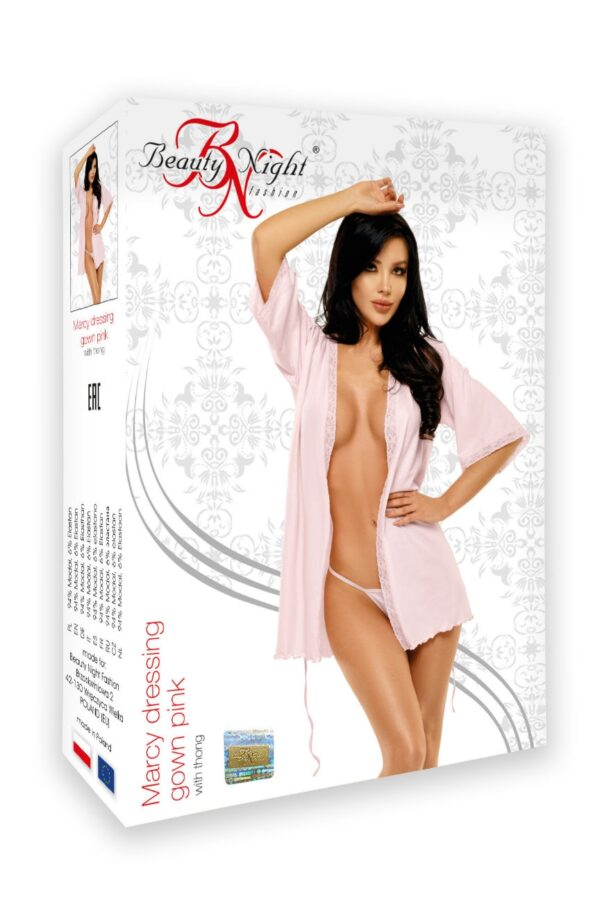 Marcy Dressing Gown Pink