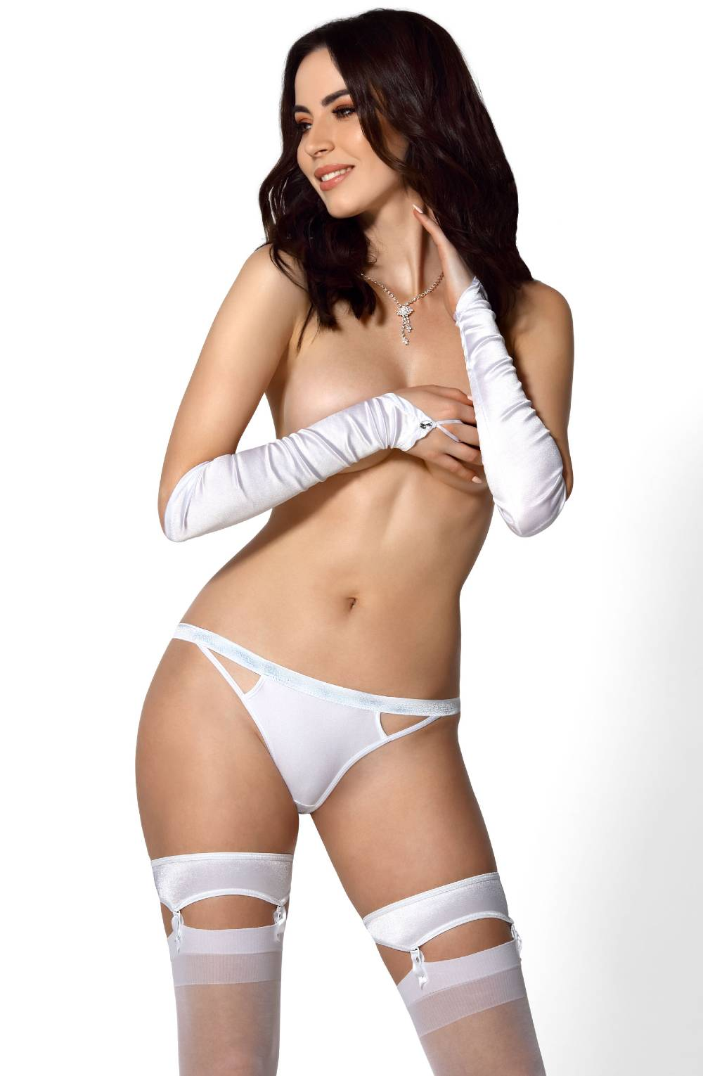Roza Lips Brief White