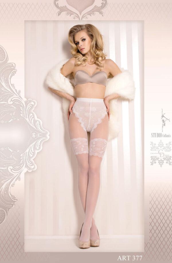 Ballerina 377 Tights Bianco (White)