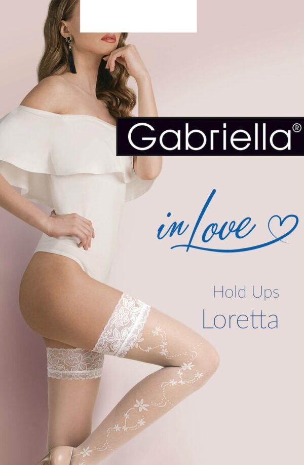 Calze Loretta Bianco