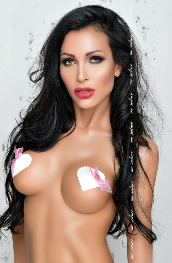 White/Pink Heart Shaped Nipple Covers