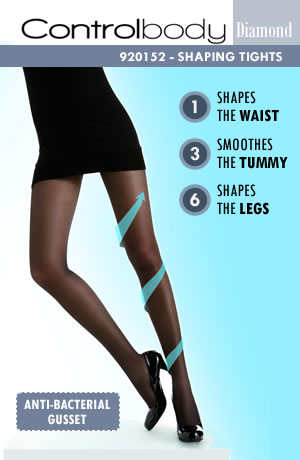 Control 920152D Shaping Tights Antracite