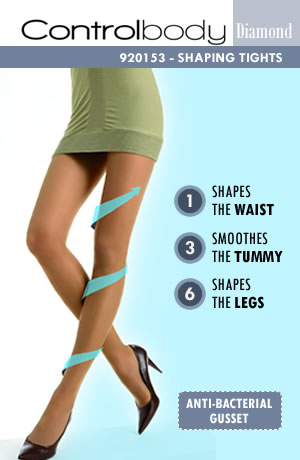 Control 920153D Shaping Tights Antilope