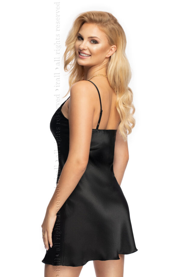 Mallory I Nightdress Black