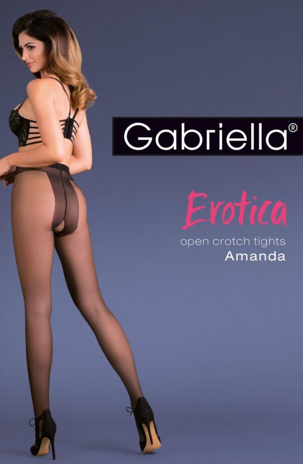 Amanda Erotic Tights Black