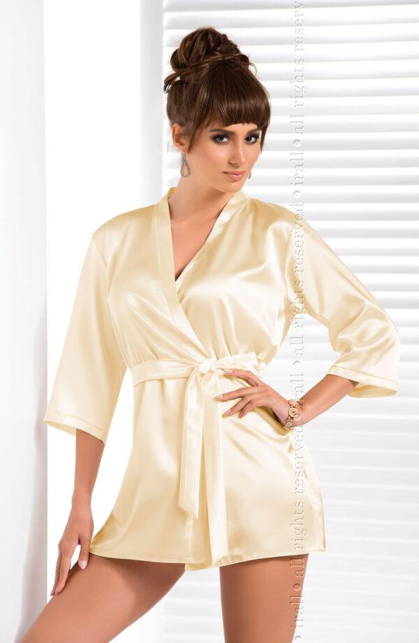 Aria Dressing Gown Cream