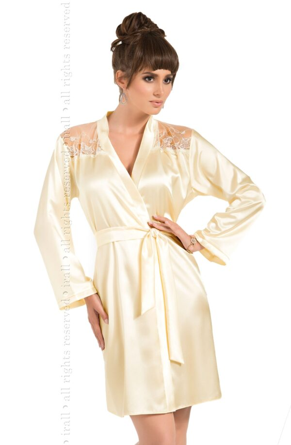 Daphne Dressing Gown Cream
