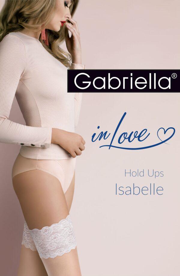 Isabelle Hold Ups Natural/Blue