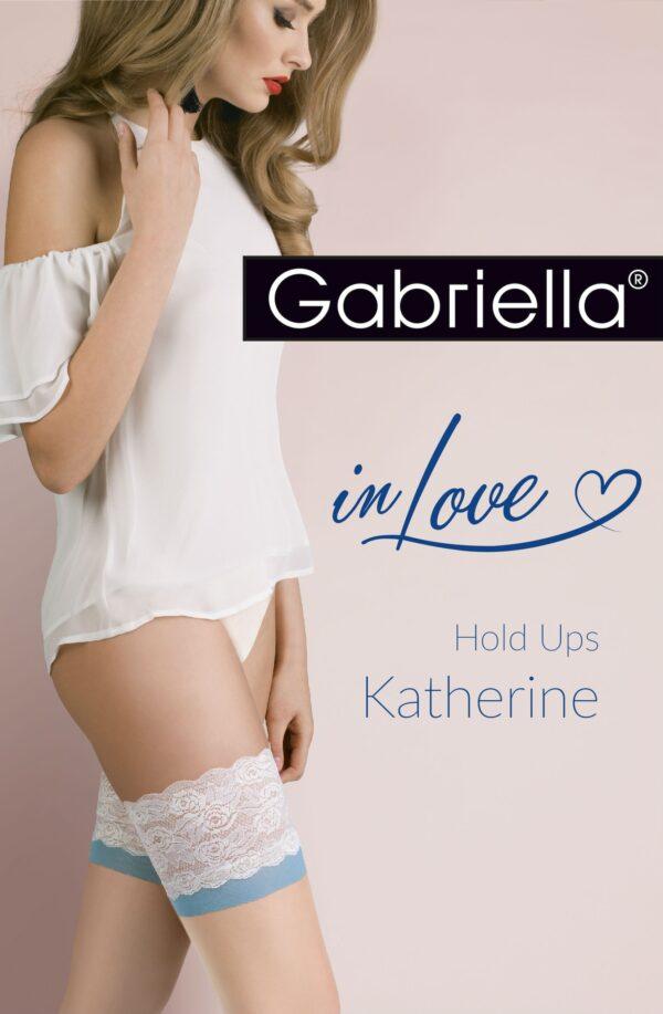 Katherine Hold Ups Natural/Blue