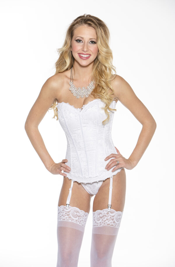 Sweetheart White Lace Corset