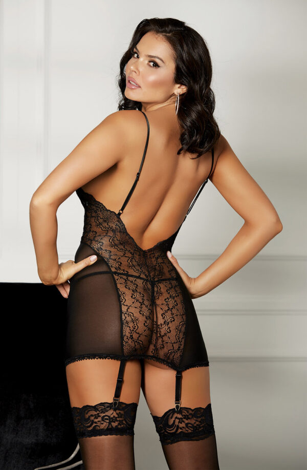 Lace Gartered Chemise