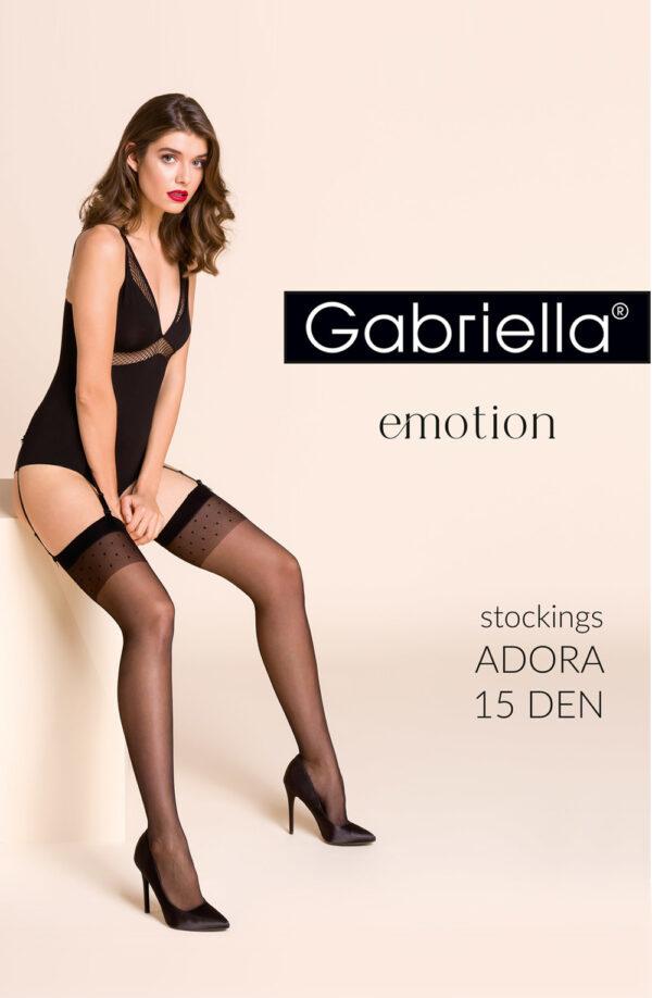 Black Adora Stockings